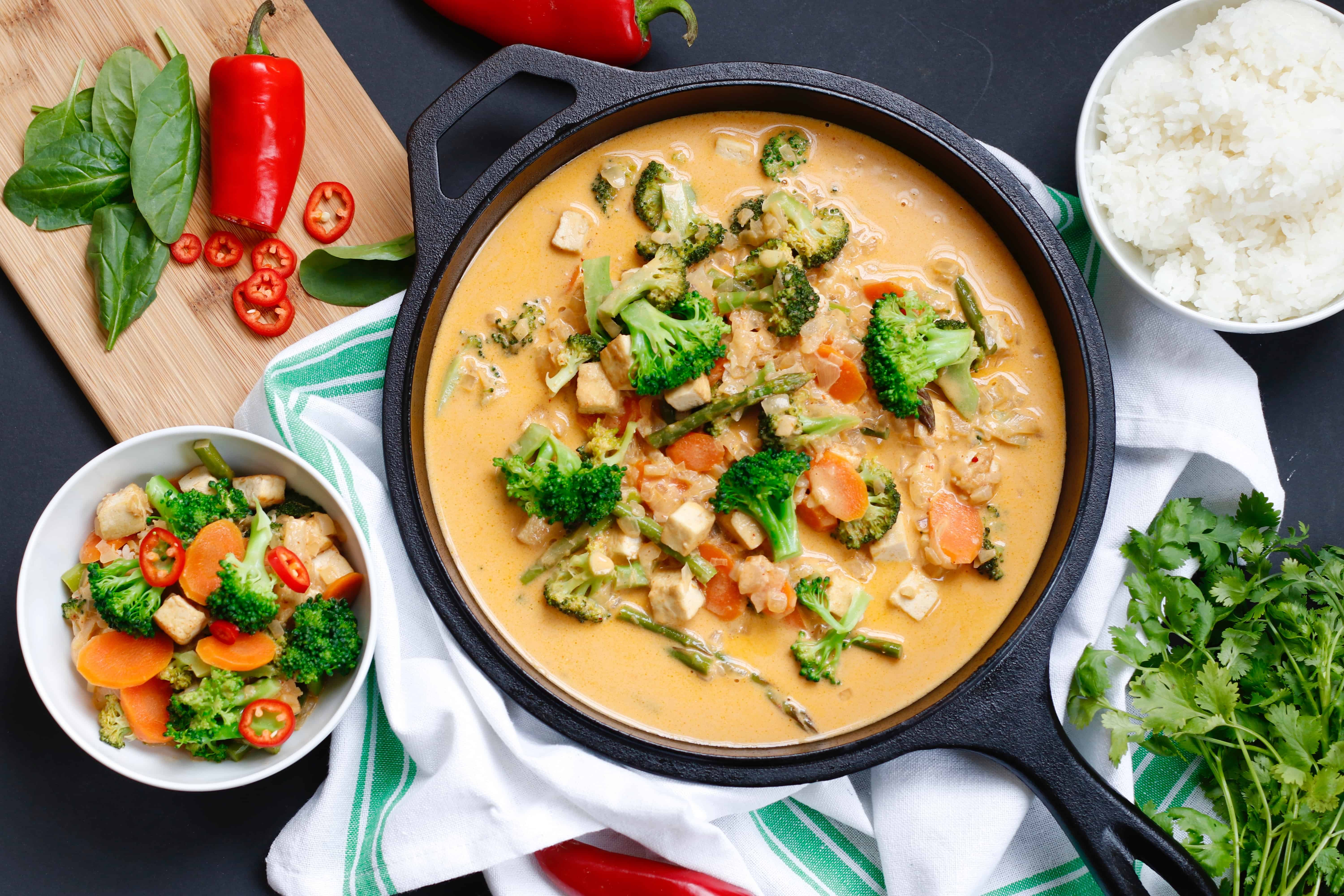 Chef ani amazing thai vegetable curry todays video features one of my absolute favorite thai dishes it is definitely a warm and comforting sort of dish the sauce is so wonderful that i forumfinder Image collections