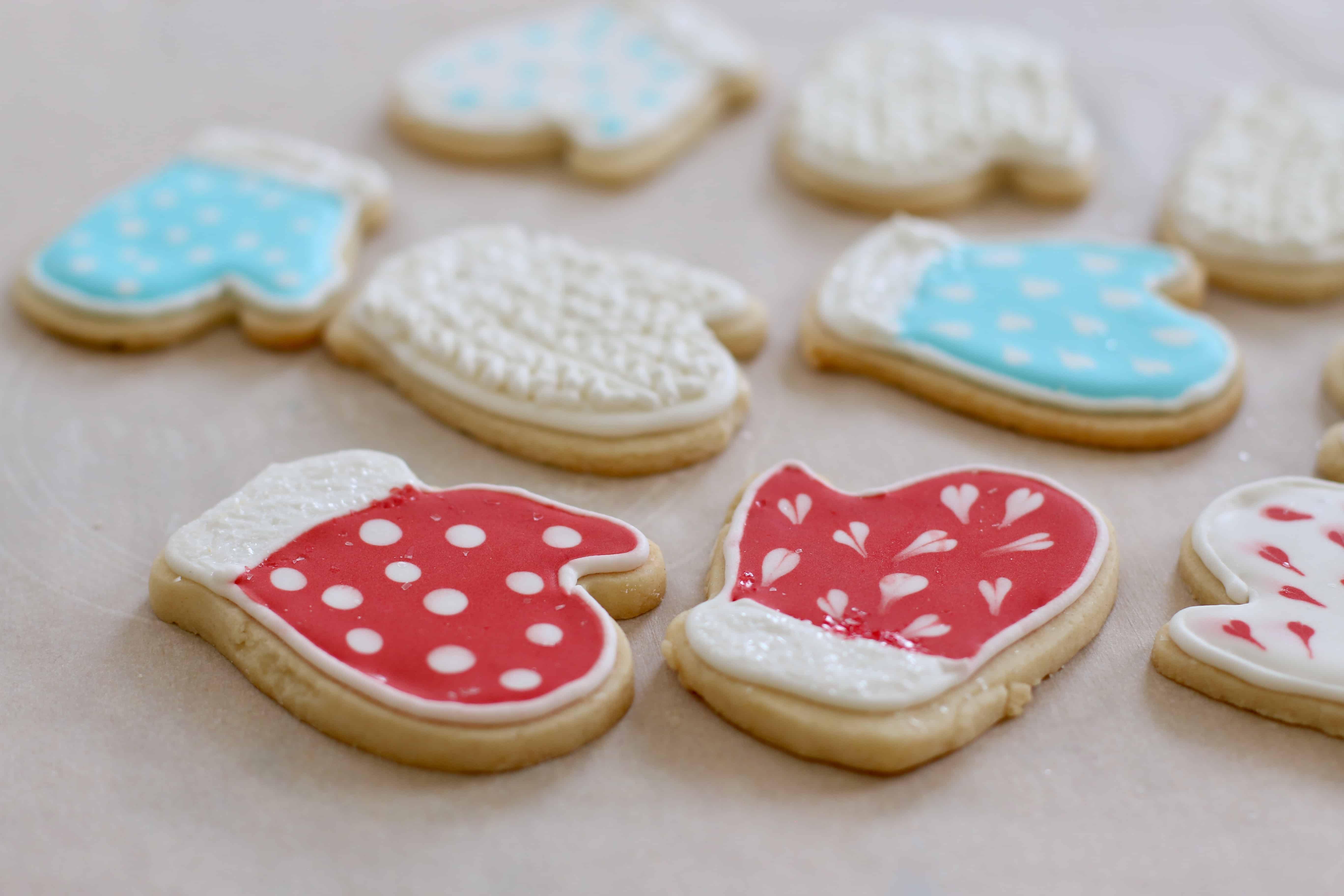 Royal Icing Christmas Cookies.Chef Ani Vegan Cut Out Cookies With Vegan Royal Icing
